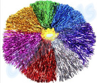 50Pcs 30G Modish Cheer Dance Potenza concorrenza Cheerleading POM Pom Pompe Fiore Illuminare Partito Divertente Fancy Pom Poms