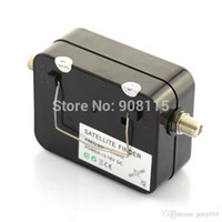 Wholesale Signal Finder For Satellite Dish - Satellite Finder signal meter for sat dish lnb direct cable TV Sat Finder satelite finder