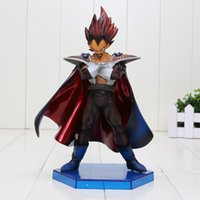 Wholesale Z Scale - 20cm Dragon Ball Z Legend of Saiyan Action Figure 1 7 scale painted figure Vegeta Vegeta's Father Doll PVC ACGN figure Toy