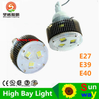 Wholesale Industrial Shops - Warranty 5 Years 50W 100W 120W 150W 200W 300W 400W Led E27 E40 Hook High Bay Light For Industrial Shop Warehouse Supermarket Lighting