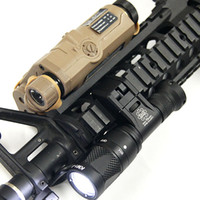 Wholesale Hard Anodizing - Tactical IFM CAM Scout Light Gun light Hard Anodizing Aluminum QD CREE LED Dual-Output Flashlight Black Dark Earth