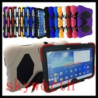 Wholesale S3 Military Case - Military Heavy Duty Shockproof CASE For Ipad 2017 Pro SAMSUNG tab 3 4 A 7.0 T230 T280 S3 T820 S2 T810 T710
