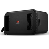 Wholesale vr box online - Original Xiaomi VR box D Virtual Reality Glasses cardboard MI VR glasses for Iphone sumsang inch Smartphone