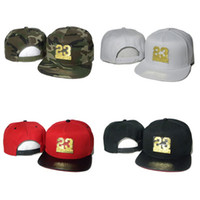 Wholesale Snap Backs Leopard - Hot Metal Logo Men Women Snapback Caps Fly Hats Snap Back 23 Snakeskin Cap Leopard Golden Hat Camo Cheap Sale