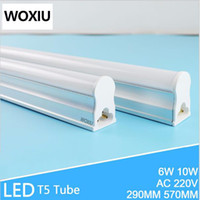 Wholesale Energy Saving Fluorescent T5 - WOXIU T5 Led Tube stent light integrated lamp holder fluorescent light pack 2ft 60cm energy saving lamp 220-240V 8W