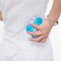 Wholesale Cheap Massager - Mini Electric Handled Wave Vibrating Massager USB Battery Full Body Massage Blue NO1 Cheap massage battery