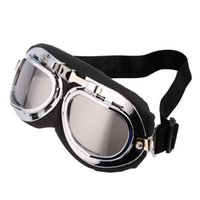 Wholesale Cheap Wholesale Scooters - Wholesale- Hot!Classic Anti-UV Safety Scooter Antiglare Goggles Helmet Glasses Multicolor Motocross Spectacle Cheap~~ Hot