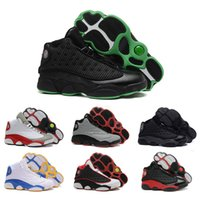 Wholesale Dan Black - Drop Shipping Wholesale Basketball Shoes Men Retro 13 Dan XIII Sneakers Boots Authentic New Discount Outdoor Hot Sale Sports Shoes Size 41-4