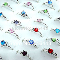 Wholesale new czech jewelry for sale - Group buy New Arrival Jewelry Mix Color Czech Rhinestones Women Silver Plated Rings A