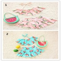 Wholesale Kids Fashion Clothes Low Price - Kids Girl Swimwear Hot Selling Baby Swimsuit Low Price And High Quality Beach Swimming Clothes Fashion Children's Swimwear Pink And Blue
