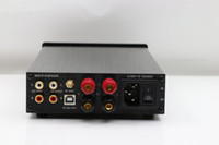 Wholesale audio amplifier digital input - Freeshipping FX-AUDIO HiFi 2.0 Digital Audio Bluetooth Earphone Amplifier 120W+120W Input USB SD RCA FLAC 24Bit 192KHz AC110-240V OLED