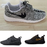 Wholesale Men Sneakers Factory Outlet - Factory outlet men running shoes 350 Boost Men's Jogging Sport Shoes sneakers light greey trainers free shipping
