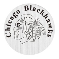 Wholesale Glass Imitation Beads - 22mm Stainless Steel Window Plates for 30mm Floating Glass Living Lockets - The Love for Chicago Blackhawks