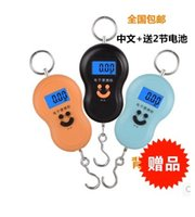 Wholesale Wheel Weights Wholesale - Portable scale 50kg Chinese back light portable scale portable lage scale hook electronic scale portable hanging scale