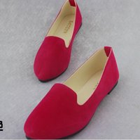 Wholesale Purple Ballerina Shoes - Spring Autumn Loafers Women Shoes Ladies Flat Shoes Ballet Flats Woman Ballerinas Casual Shoe Sapato Zapatos Mujer Womens Loafer