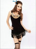 Wholesale Indian Women Sexy Hot - Wholesale-Free Shipping Hot Sale Women Sexy Halloween Costumes Women Sexy Indian Costumes Sexy Pocahontas Costumes Sexy Costumes 4F1600