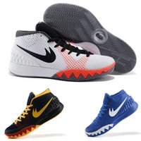 nba basketball stars achat en gros de-Nouveau 2016 kyrie irving shoes kyrie 1 Hommes Basketball Chaussures Sneakers Dream BHM Pâques All Star Sports Shoe Athletic Sneaker 8-12