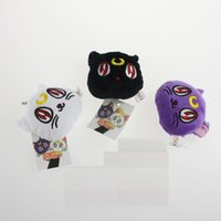 Wholesale Luna Plush - 2015 Anime Toy Pretty Guardian Sailor Moon plush toys cat Luna Artie Smith Diana 7cm doll pendant