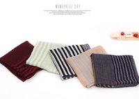 Wholesale Muslim Head Scarf Accessories - Hot selling stripe scarf popular ladies viscose design shawls autumn wrap head muslim headband shawls scarves pashmina Fashion Accessories
