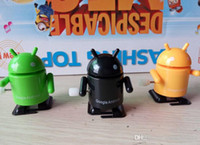 Wholesale Google Android Robot Toy - Google Android Robot Decoration Mini Collectible Robot Toy Collection Green Movies Video Game Cartoon Action Figures