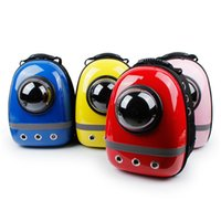 Wholesale Wholesale China Backpack - Laptop Backpack Pet Space Bag Hot Sale Capsule Shaped Pet Carrier Breathable backpack for dog cat outside Travel Portable Bag Pet Supplies