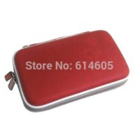 Wholesale Dsi Covers - 3 in 1 Red Airform Protect Hard Travel Carry Case Cover Pouch Bag for Nintendo DSi NDSi
