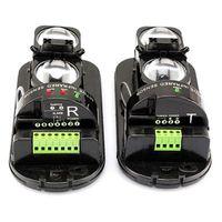 Wholesale Dual Beam Detector - Alarm Dual Beam Photoelectric Infrared Sensor Motion Detector 100M For Home & Garden Security