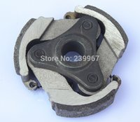 Wholesale Scooter Parts Clutch - Clutch ( iron ) no keyway for Robin NB411 1E40F-6 1E48F 47CC 49CC 63CC 2 stroke auger digger packet bike mini dirt ATV scooter