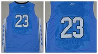 23 Blue Men's basketball Jersey, vente en gros gros hommes sports Basketball Wear Taille: S-XXL commandes mixtes