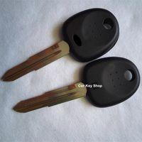 ingrosso chiave transponder hyundai vuoto-Di alta qualità per Hyundai Santa Fe Sonata Transponder Key Shell HYN7 Lama destra Sostituzione Key Cover Blanks per Hyundai