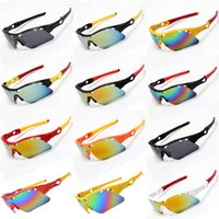 Wholesale Cheap Bicycle Glasses - Outdoor Mountain Sports Sunglasses for Adults Cheap High Shine Bicycle Cycling Eyewear Glasses UV400 Sports Fishing Sunglasses for Men