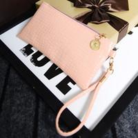 Wholesale Croco Leather Tote Handbag - Women's Lady Fashionable Candy Croco Handbag Fashion Elegant Sexy Slim Stylish Chic Casual PU Leather Clutch Wallet Purse Bags