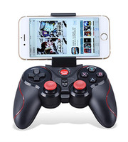 Wholesale Ios Bluetooth Game Controller - HOTTEST New mobile phone game Bluetooth wireless game controller S5 support iOS   Android mobile phone non T3 + S3 S600 free shipping