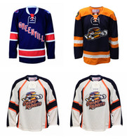 Wholesale Ice Rabbit - Wholesale Customize ECHL 2016-17 Greenville Swamp Rabbits Mens Womens Kids Embroidery Custom Any name Any NO. Hockey Jerseys Goalit Cut Hot