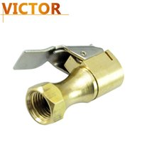 """Wholesale Air Chuck Tire Brass - Wholesale-Free Shipping Large Autor EC Open Flow Air Chuck with Lock Brass Stem for Tire Inflator - Pack of 11 4""""NPT Female Repair Kits"""