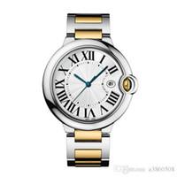 Wholesale Elegant Watches - Fashion Lady Quartz CARTIE Watch Elegant Women Dress Relogio Famous Luxury Brand Rosegold Stainless Steel Gold Wristwatches
