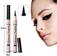 Wholesale Make Up For Eyes - YANQINA Black Eyeliner Pencils Liquid Eye Liner Eyeliner Pen Brand Makeup Cosmetic Magic Make Up Stereoscopic Effect Lasting for 12 Hours