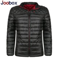 Wholesale Down Coat Europe - Fall-2016 New arrival tink down jacket Europe size cotton winter coat stand men winter parkas brand outdoor sports jackets (9900)