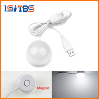 Wholesale Heart Ceiling Light - Portable USB Powered LED Night light Desk Book Reading Ceiling lamp For Camping Emergency Bulb gift With Switch ON   OFF