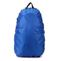 capa de mochila de capa de chuva venda por atacado-Impermeáveis capa de chuva para mochila de viagem de acampamento caminhadas ao ar livre ciclismo mochila escolar saco de bagagem capa de chuva 5 cores