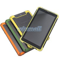Wholesale Charged Battery China - Rugged Tablet PC Shockproof 7 inch 1024*600 MTK6572 dual core 1GB 8GB Dual SIM GPS 3G Phablet Big Battery Charging Cell Phone