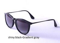 Wholesale Nylon Sunglasses - Erika 4171 Sunglasses Fashion Women Polarized Sunglasses Brand Designer Sunglasses 54mm Gradient Resin Lenses Nylon Frame Metal Temple
