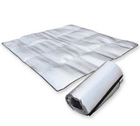 Wholesale Eva Sleeping Mats - 2016 Outdoor Foldable Folding Sleeping Mattress Mat Pad Waterproof Aluminum Foil EVA Outdoor Camping Mat Inflatable Mattress