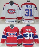 cbc13c0dd 2016 New Mens Cheap Authentic Montreal Canadiens Carey Price Jersey Red  Home White Away Stitched  31 Canadians Ice Hockey Jerseys ...