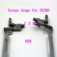 Wholesale Hinges For Hp Laptop - brand new LCD hinge for HP Compaq Presario nx7300 nx7400 laptop screen hinges free shipping