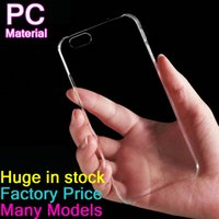 Wholesale Cheapest Iphone 5c Cases - Cheapest Crystal case for new iPhone 7 7 Plus clear hard back cover transparent case for iphone 6 6 Plus 5S 5G 5C DHL Fast Free shipping