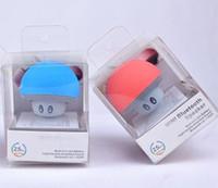 Wholesale Musik Bluetooth - Mushroom Mini drahtlose Bluetooth Lautsprecher Freisprecheinrichtung Sucker Cup Audio Receiver Musik Stereo Subwoofer USB für Android iOS PC