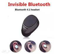 Super Mini 7 Invisible Wireless Stereo Headset Bluetooth In-Ear V4.1 Handfree Menor Bluetooth fone de ouvido para o iPhone 6 samsung S7
