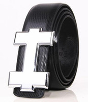 Wholesale Bussiness Casual - 2017 new Fashion designer Belts Men High Quality Genuine Leather Belt letter buckle Cinto Men Belt Luxury Bussiness Casual waistband