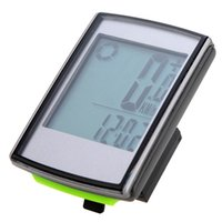 Wholesale Odometer For Bikes - Multifunctional Bicycle Computer Wireless LCD Bicycle Bike Computer Odometer Speedometer for Outdoor Cycling